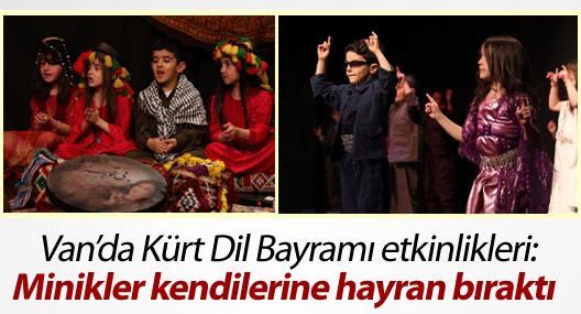 Van'da Kürt Dil Bayramı etkinlikleri