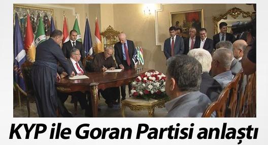 KYP ile Goran Partisi anlaştı