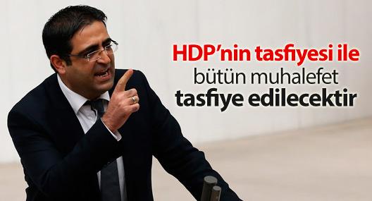 Baluken: HDP'nin tasfiyesi ile bütün muhalefet tasfiye edilecektir