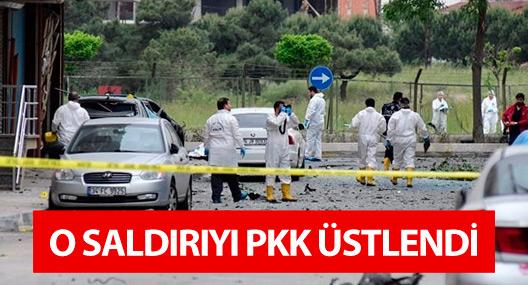 Sancaktepe'deki saldırıyı PKK üstlendi
