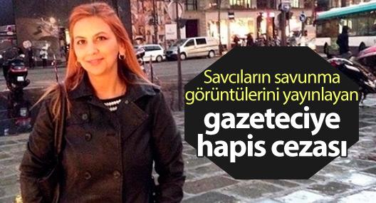 Gazeteci Arzu Yıldız'a hapis cezası!