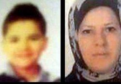 Suriyeli anne ve oğlu enselerinden vurularak öldürüldü