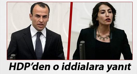 HDP'den Sarıyıldız ve Hezer ile ilgili 'iddialara' tepki