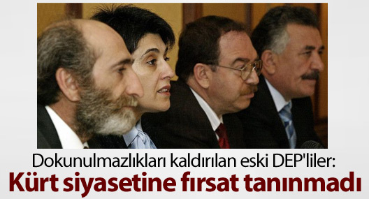 1994'te dokunulmazlıkları kaldırılan DEP'liler: Kürt siyasetine fırsat tanınmadı