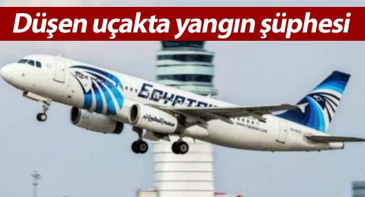 Akdeniz'de düşen EgyptAir uçağında yangın şüphesi