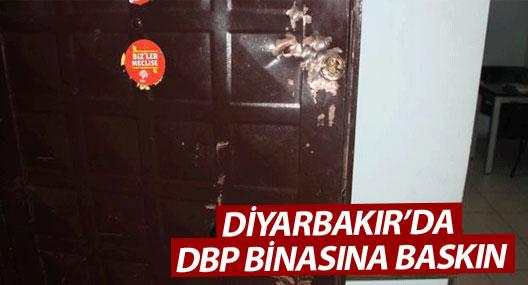 Diyarbakır'da DBP binasına baskın