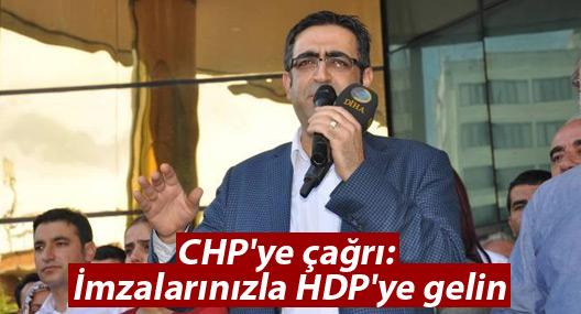 Baluken'den CHP'lilere 'İmzalarınızla HDP'ye gelin' çağrısı