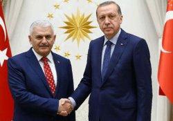 Erdoğan, hükümeti kurma görevini Yıldırım'a verdi