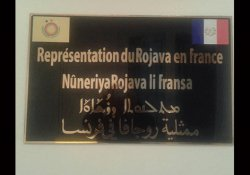 Paris'te Rojava temsilciliği açıldı