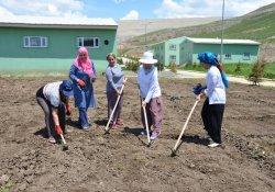 Ağrı'da kadınlar doğal tarımla buluştu