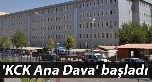 'KCK Ana Dava' başladı