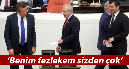 Kılıçdaroğlu: Benim fezlekem sizden çok, göze alıyorum