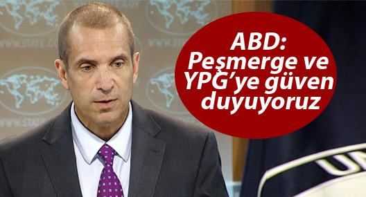 ABD: Peşmerge ve YPG'ye güven duyuyoruz