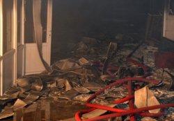 Ekmek fabrikasında korkutan yangın