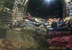 Açlık grevindeki 20 madenci hastaneye kaldırıldı