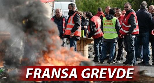 Fransa grevde: Sendikalar ve hükümet karşı karşıya