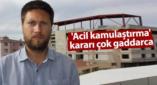 Af Örgütü Türkiye temsilcisi: 'Acil kamulaştırma' kararı çok gaddarca
