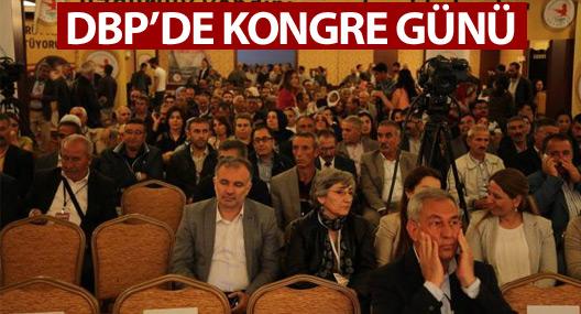 DBP'den kongre günü