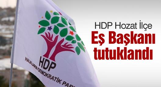 HDP Hozat İlçe Eş Başkanı tutuklandı