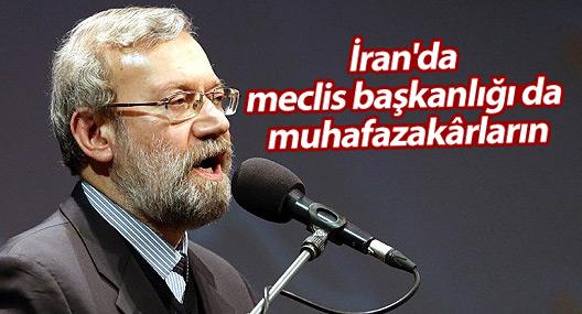 İran'da meclis başkanlığı da muhafazakârların