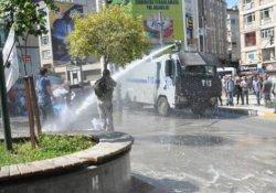 Kadıköy'deki Nusaybin eylemine polis müdahalesi