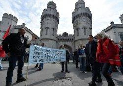 Belçika'daki grevler hayatı durdurdu