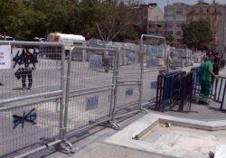 Gezi Parkı ve Taksim Meydanı yayalara kapatıldı