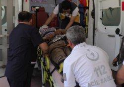 Yüksekten düşen işçi ağır yaralandı