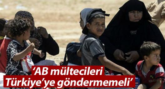 Af Örgütü: AB mültecileri Türkiye'ye göndermemeli