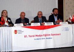 'Yerel Medya Semineri' Akçakoca'da başladı