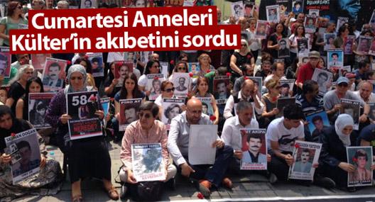 Cumartesi Anneleri Hurşit Külter'in akıbetini sordu
