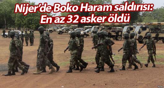 Nijer'de Boko Haram saldırısı: En az 32 asker öldü