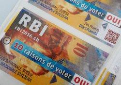İsviçre'de herkese maaş önerisi referandumda reddedildi