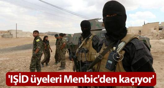 'IŞİD üyeleri Menbic'den kaçıyor'