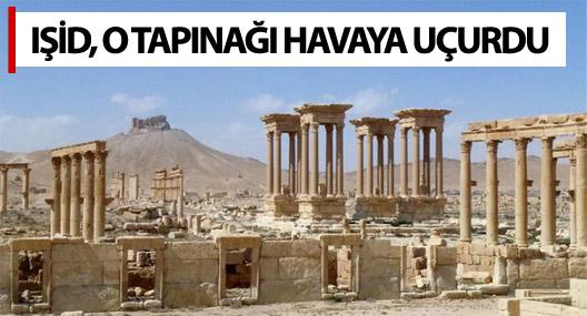 IŞİD, o tapınağı havaya uçurdu