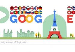 Google'dan Euro 2016 'Doodle'ı