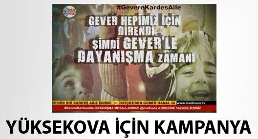 Yüksekova için Med Nuçe'den kampanya
