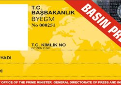 Basın Kartı Komisyonu 22-23 Haziran tarihlerinde Ankara'da toplanacak