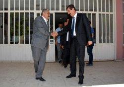 Özgen'den Hakkari Belediyesi'ne ziyaret