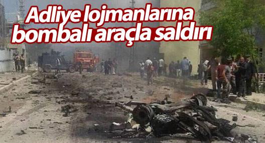 Ovacık'ta adliye lojmanlarına bombalı araçla saldırı: 9 kişi yaralandı