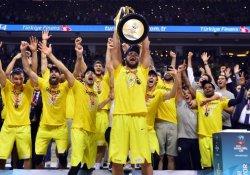 Basketbolda şampiyon Fenerbahçe