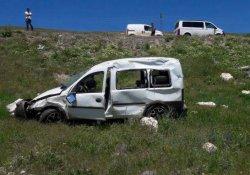 Tekman'da trafik kazası: 4 yaralı