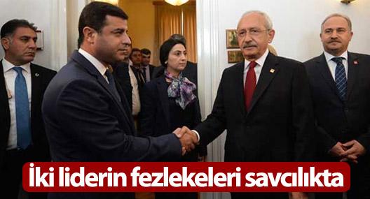 Demirtaş ve Kılıçdaroğlu'nun fezlekeleri savcıda
