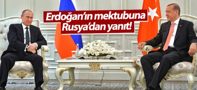 Erdoğan'ın mektubuna Rusya'dan yanıt!