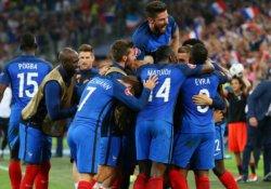 EURO 2016'da tur atlayan ilk takım Fransa