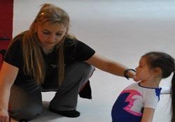 Hakkari'de yaz okulları cimnastik kursu başladı