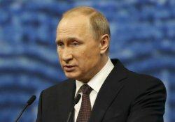 Putin'den başsağlığı mesajı