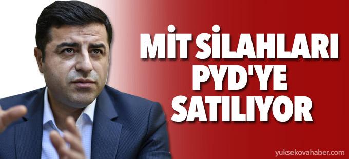 Selahattin Demirtaş: MİT silahları PYD'ye satılıyor