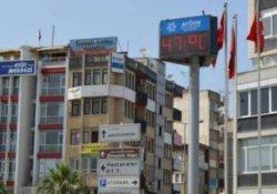 Aydın'da sıcaklık tatili