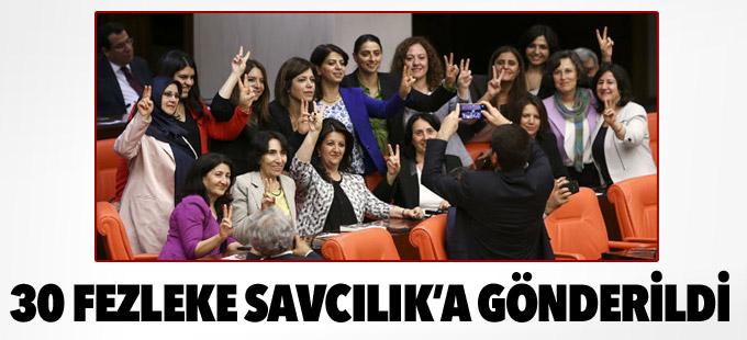 HDP'lilere ait 30 fezleke Diyarbakır Cumhuriyet Başsavcılığı'nda